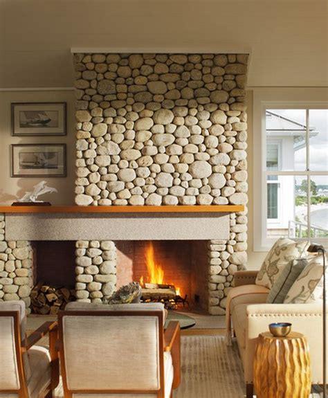 rock fireplace wall 34 beautiful stone fireplaces that rock