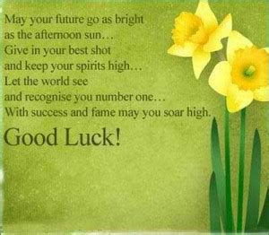 best wishes for a bright future quotes