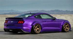 Purple 2019 Ford Mustang Will Give You SEMA Street Cred For $46k | Carscoops