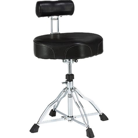 tama ht741b chair ergo rider drum throne with back