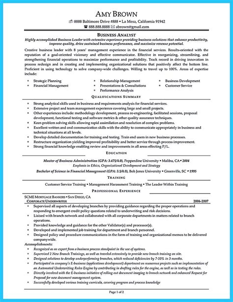 Best Places To Post Resume by Create Your Astonishing Business Analyst Resume And Gain