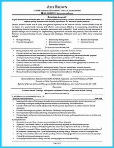 Cover Letter Structure Create Your Astonishing Business Analyst Resume And Gain