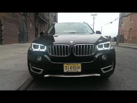 bmw headlights at night bmw x5 x6 led headlights at night youtube