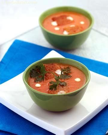 healthy tomato soup recipe error page tarladalal com