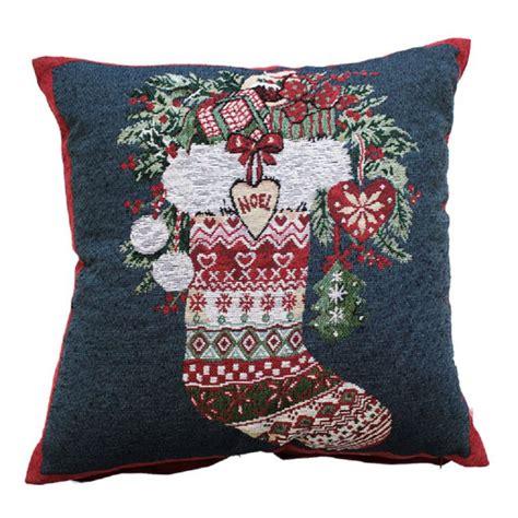 stocking christmas festive cushion cover tonys textiles tonys textiles