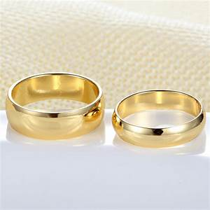 aliexpresscom buy couple rings gold engagement ring for With bague mariage