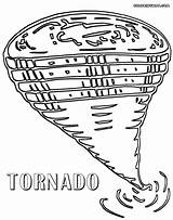 Tornado Coloring Colouring Colorings sketch template