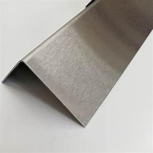 Edelstahl Winkel 1,5mm Abdeckleiste 3000mm L Profil  Eckleisten Metall K240 V2A