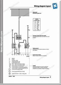 Volkswagen Passat Official Factory Wiring Diagrams 1996