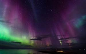 Aurora Borealis Northern Lights Night Stars HD wallpaper ...