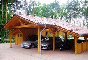 Holzbalken Für Carport : carport f r motorrad ~ Articles-book.com Haus und Dekorationen