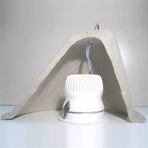 Cloche De Protection Pour Spot Encastrable : capot pour protection au feu des spots encastr s ~ Dailycaller-alerts.com Idées de Décoration