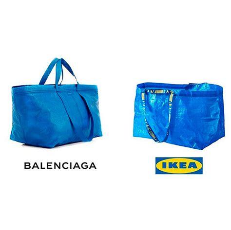 mobile kitchen island ikea ikea had the best response to balenciaga releasing a