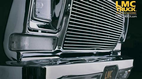 lmc truck ford grilles   youtube