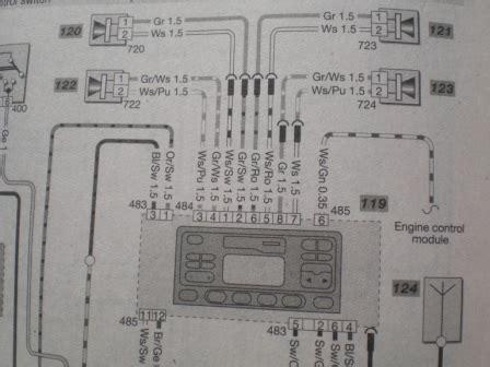steering wheel stalk wiring diagram in car entertainment