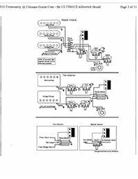 Emg Pickups    Top 10 Emg Wiring Diagrams    Electric Guitar