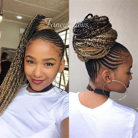 Make sure you use a volumizing mousse to help maintain the look! Thin Straight Up Braids Hairstyles Pictures | LIKE-PLUS.NET ปั้มไลค์ ปั้มไลค์เฟสบุ๊ค ปั้มรูปโปร ...