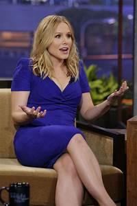 Kristen Bell On Show With Jay Leno - Celebzz
