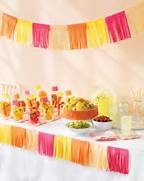 Decorating With Fiestaware Dollar For A Design Cinco De Mayo Easy Tissue Paper Decor