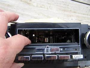 Vintage Gm Delco 8 Track Tape Player Am Fm Stereo Car