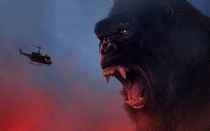Kong King 4k Skull Island