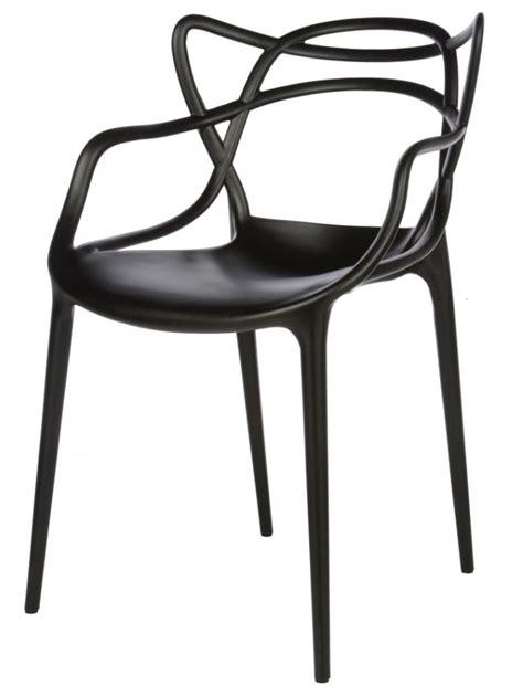 Philip Starck Stuhl by Philippe Starck Masters Chair Replica Black Furniture