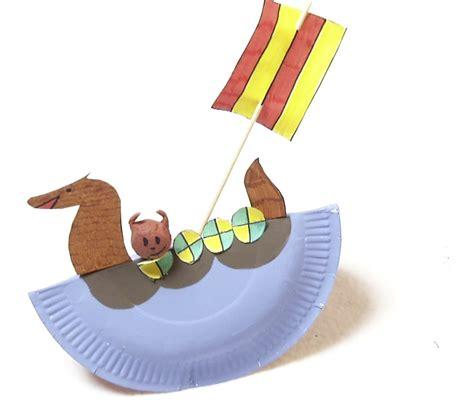 bricolage fabriquer un bateau de viking