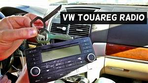 Vw Touareg Radio Removal Replacement Cd Player