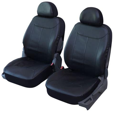 siege auto タ l avant housse de siège auto universelle simili cuir noir 2 sièges avant housse auto