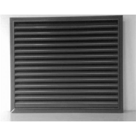 Grille De Ventilation En Aluminium Brut