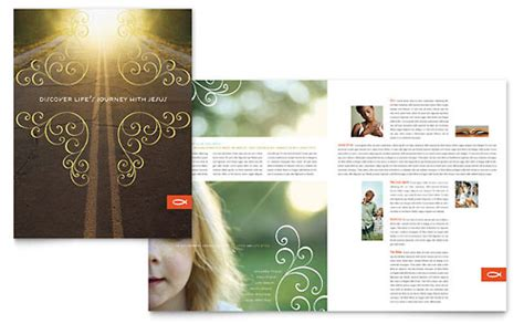 humanitarian aid organization brochure template design