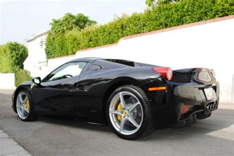 purchase   ferrari  italia spider blackblack