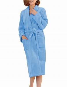 Bathrobes Women Robe Autumn Winter ᗛ Warm Warm Long Sleeve