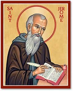 Men Saint Icons: St Jerome Icon Monastery Icons