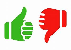 Thumbs Up And Thumbs Down - ClipArt Best