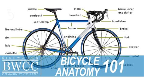 Learn All The Parts Of A Bike
