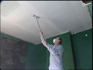 Enduire Un Plafond Au Rouleau : pose placo plafond refaire un plafond avec du placopl tre bricobistro ~ Farleysfitness.com Idées de Décoration