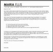 Special Needs Teaching Assistant Cover Letter Sample 13 Best Images About Teacher Cover Letters On Pinterest Account Manager Cover Letter Example Teacher Cover Letter Template Uk Cover Letter With Resume