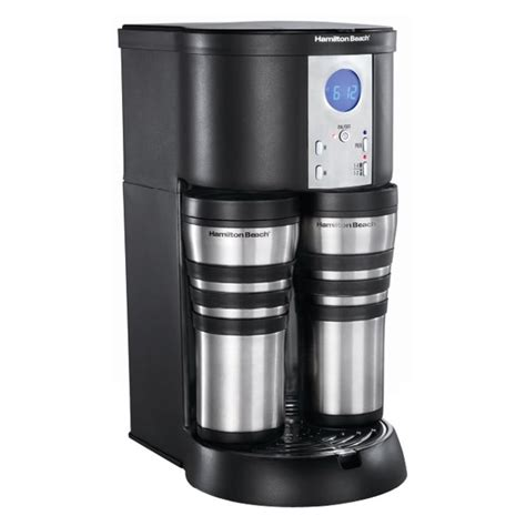 If you want a real cup of coffee, then you want one of these! Hamilton Beach 10 Cup Stay or Go Thermal Coffee Maker - Walmart.com - Walmart.com