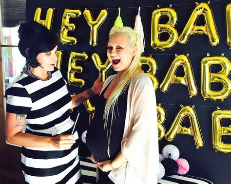 Kara's Party Ideas Hey Baby! Hipster Glam Baby Shower Via