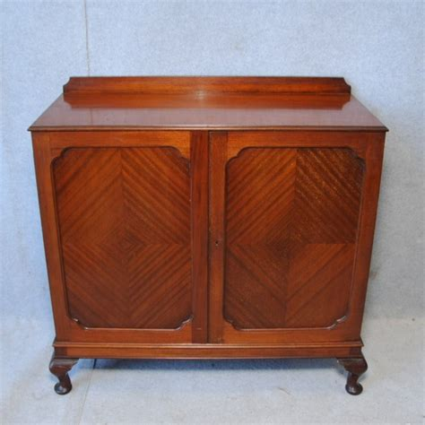 antique record cabinet a 1920 s mahogany record cabinet gramophones