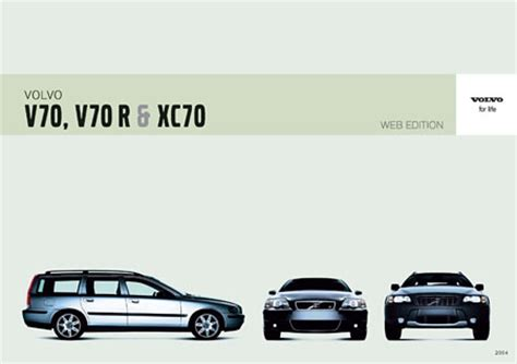 volvo  xc series owners manuals