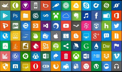 10 Popular Free To Download Icon Sets For Web Designers