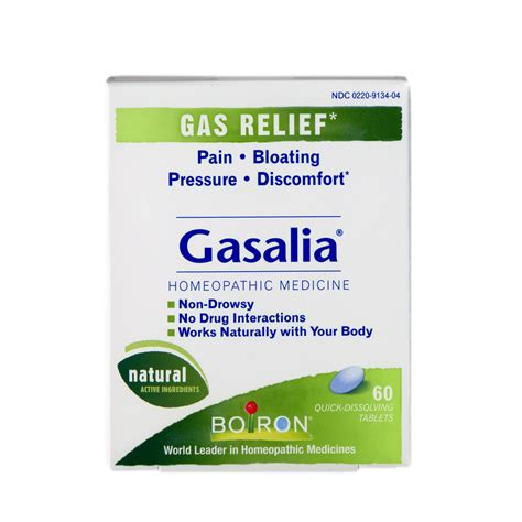 Gasalia Pain Reliever Due To Stomach Gas 60 Tablets