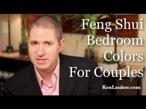 feng shui bedroom colors  couples youtube