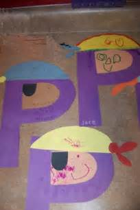 Letter P Craft Pirate