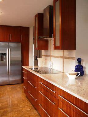 custom modern mahogany kitchen cabinets  natural mystic