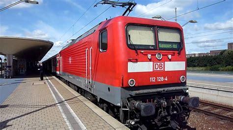 Schnellzuglok E-lok Br 112 128-4 Der Db Baureihe 112.1 Im