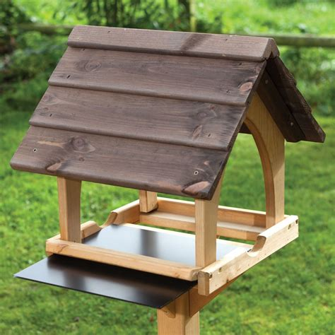 bird tables table feeder plans rspb gothic birds feeders wooden feeding garden metal platform houses boxes designs shopping roof wood