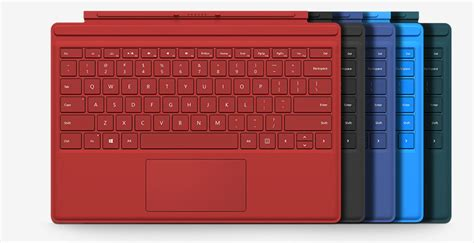 surface pro keyboard colors new accessories type cover surface pen surface dock